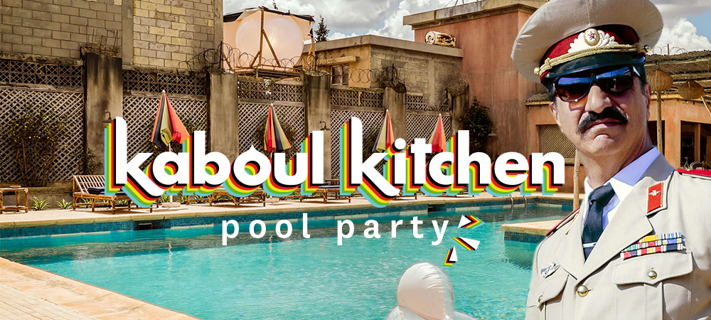 Une Pool Party comme à Kaboul