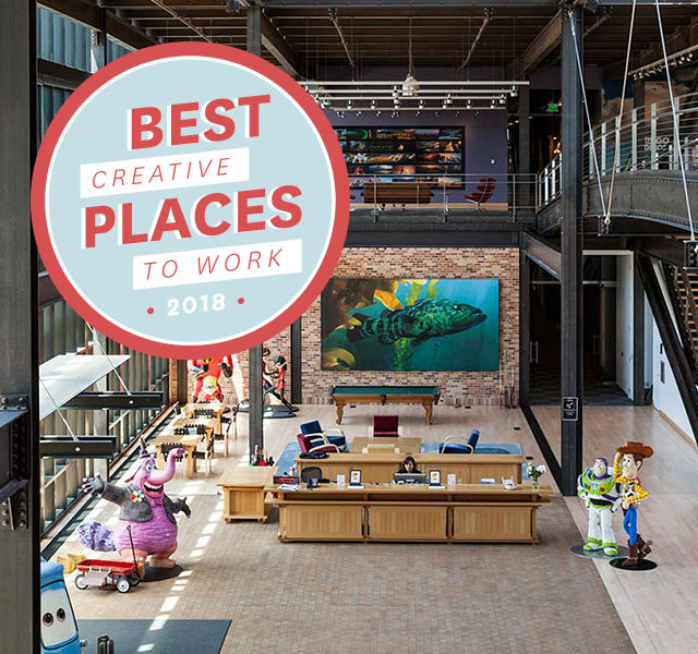 Best (creative) Places To Work 2018